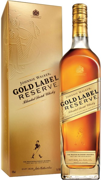 JOHNNIE WALKER Gold Reserve whisky 40% db          0.7l