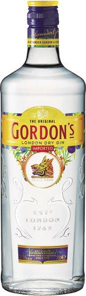 GORDON ´S gin 37,5 %