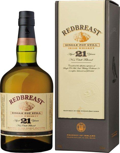 REDBREAST 21y whisky 46% darčekové balenie