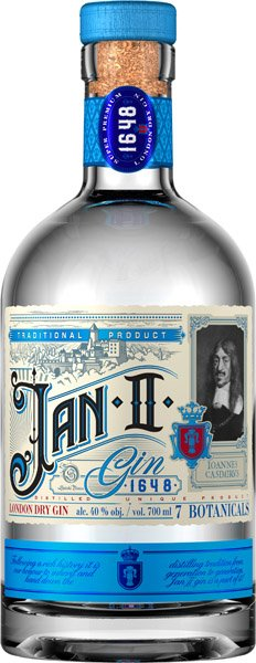 JAN II Gin London dry 40%