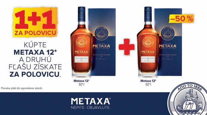 METAXA 12* 40% balík 2x darčekové balenie