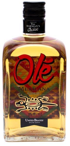 MEXICANA OLÉ tequila gold 38%