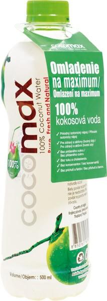COCOMAX 100% kokosová voda 0.5l