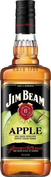 JIM BEAM Apple whisky 35%