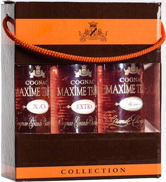 MAXIME TRIJOL cognac kolekcia 40%darčekové balenie