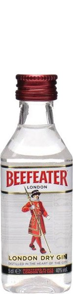 Beefeater London Dry Gin 40% Miniatúrka