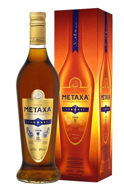 METAXA 7* 40% darčekové balenie