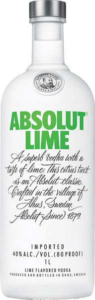 ABSOLUT Lime vodka 40%