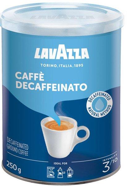 LAVAZZA káva Dek bezkofeínová mletá