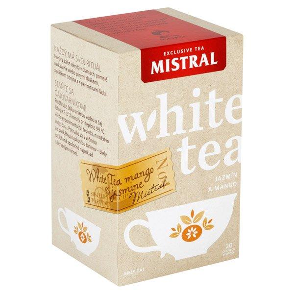 1ks MISTRAL čaj biely jazmín a mango HB