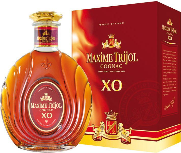 Maxime Trijol Grand Classic XO cognac 40% DB