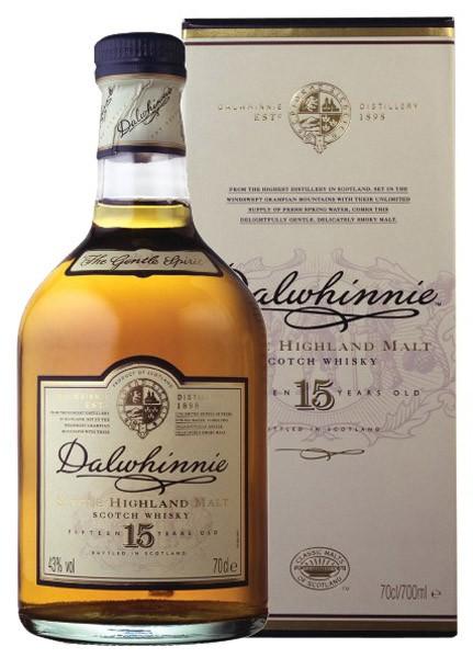 DALWHINNIE 15y whisky 43% darčekové balenie