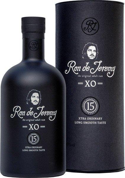 RON DE JEREMY  XO 15y rum darčekové balenie 40%