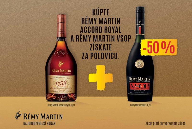 RÉMY MARTIN Accord Rocal + V.S.O.P balík 40% DB