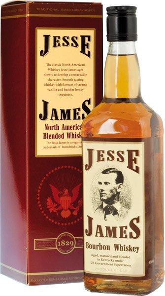 JESSE JAMES whisky 40% darčekové balenie