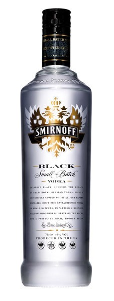 SMIRNOFF Black vodka 40%                           0.7l