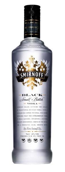 SMIRNOFF Black vodka 40%