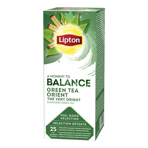 1ks LIPTON čaj Tchae Orient zelený HB