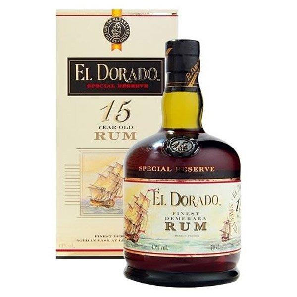 EL DORADO 15y rum 43% darčekové balenie