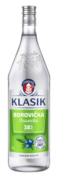 INOVECKÁ borovička Klasik 38%