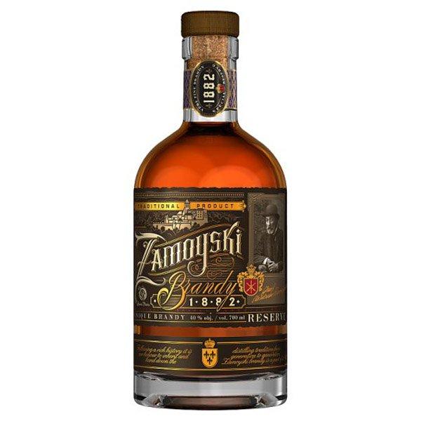 Zamoyski brandy Reserve 40%