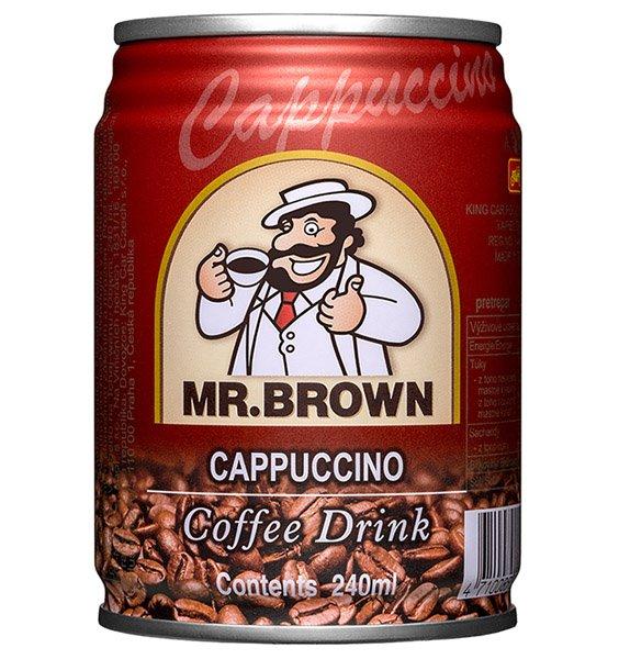 1ks MR.BROWN cappuccino ľadová káva, plech