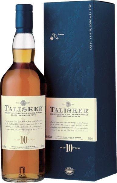 TALISKER 10y whisky 45,8% darčekové balenie