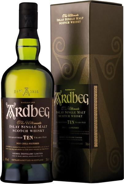 ARDBEG 10y whisky 46% darčekové balenie