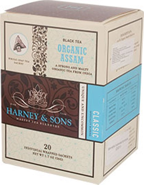 1ks HARNEY & SONS čaj organic assam á 20 ks
