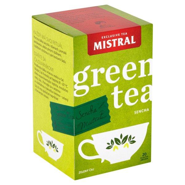 1ks MISTRAL čaj zelený sencha HB