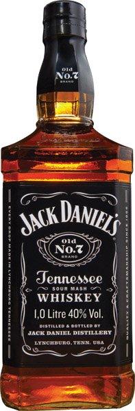 JACK DANIEL´S whiskey 40%