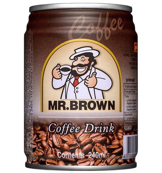 MR.BROWN ľadová káva classic