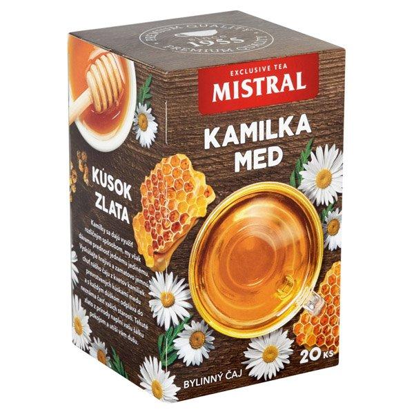 1ks MISTRAL čaj kamilka a med HB