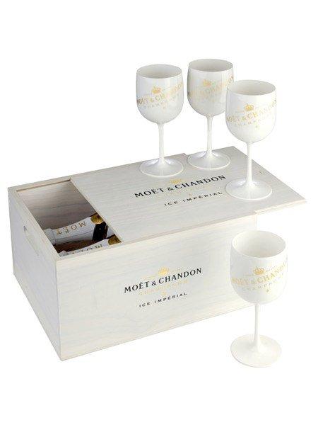Moet&Chandon Ice Impérial 2×0,75L + 4 poháre