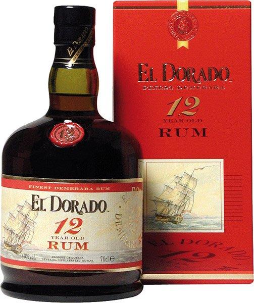 EL DORADO 12y rum 40% darčekové balenie