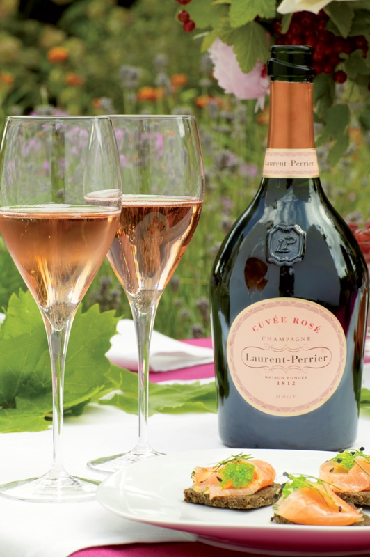 Laurent Perrier Cuvée Rosé šampanské 4