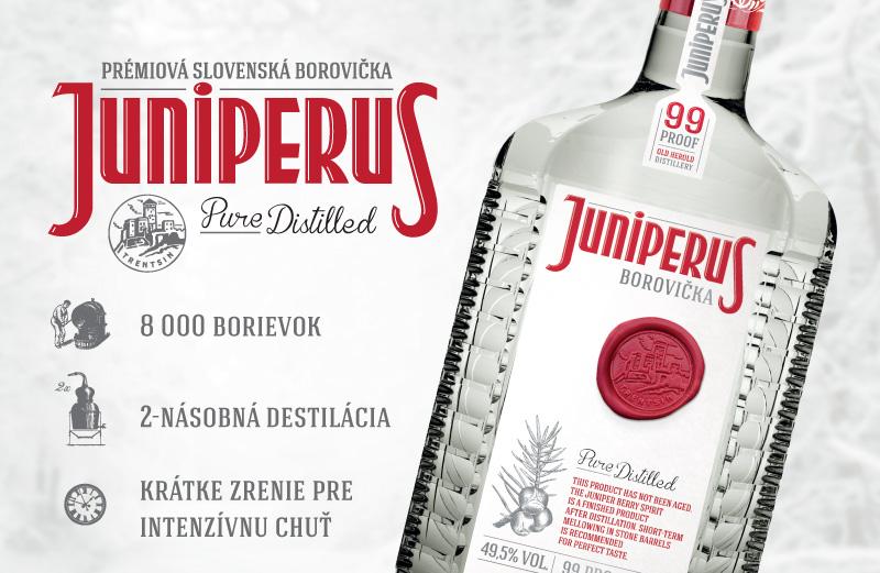 JUNIPERUS borovička